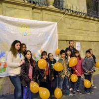 Uns 200 nens celebren el Dia dels Drets dels Infants