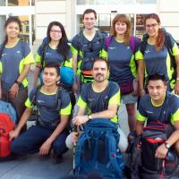 Joves lleidatans en camí vocacional a Santiago