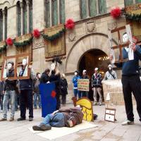 Flashmob per les Persones sense Llar