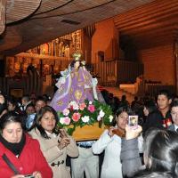 Trobada de famílies equatorianes a Torreciutat