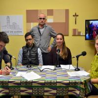 Els alumnes de l'Episcopal col·laboren al 'De Bat a Bat' (vídeo)